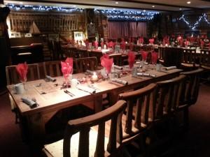 the grange restaurant for a part